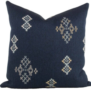Indigo Southwest Pillow 18x18""
