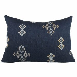 Indigo Southwest Lumbar Pillow 14x20""