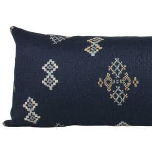Indigo Southwest Long Lumbar Pillow crop
