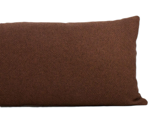 Clay Woven Long Lumbar Pillow