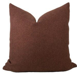 Clay Woven Pillow